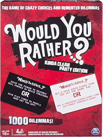 Spin Master Games - Would You Rather…? Kinda Clean Party Edition Edition