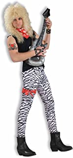 Men's 80's To The Maxx Zebra Pants Costume