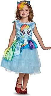 Rainbow Dash Movie Classic Costume, Blue, Medium (7-8)