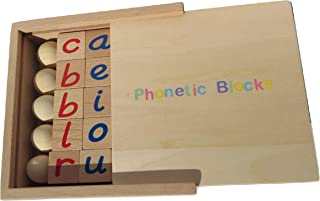 Montessori Phonetic Reading Blocks By BeeLearners