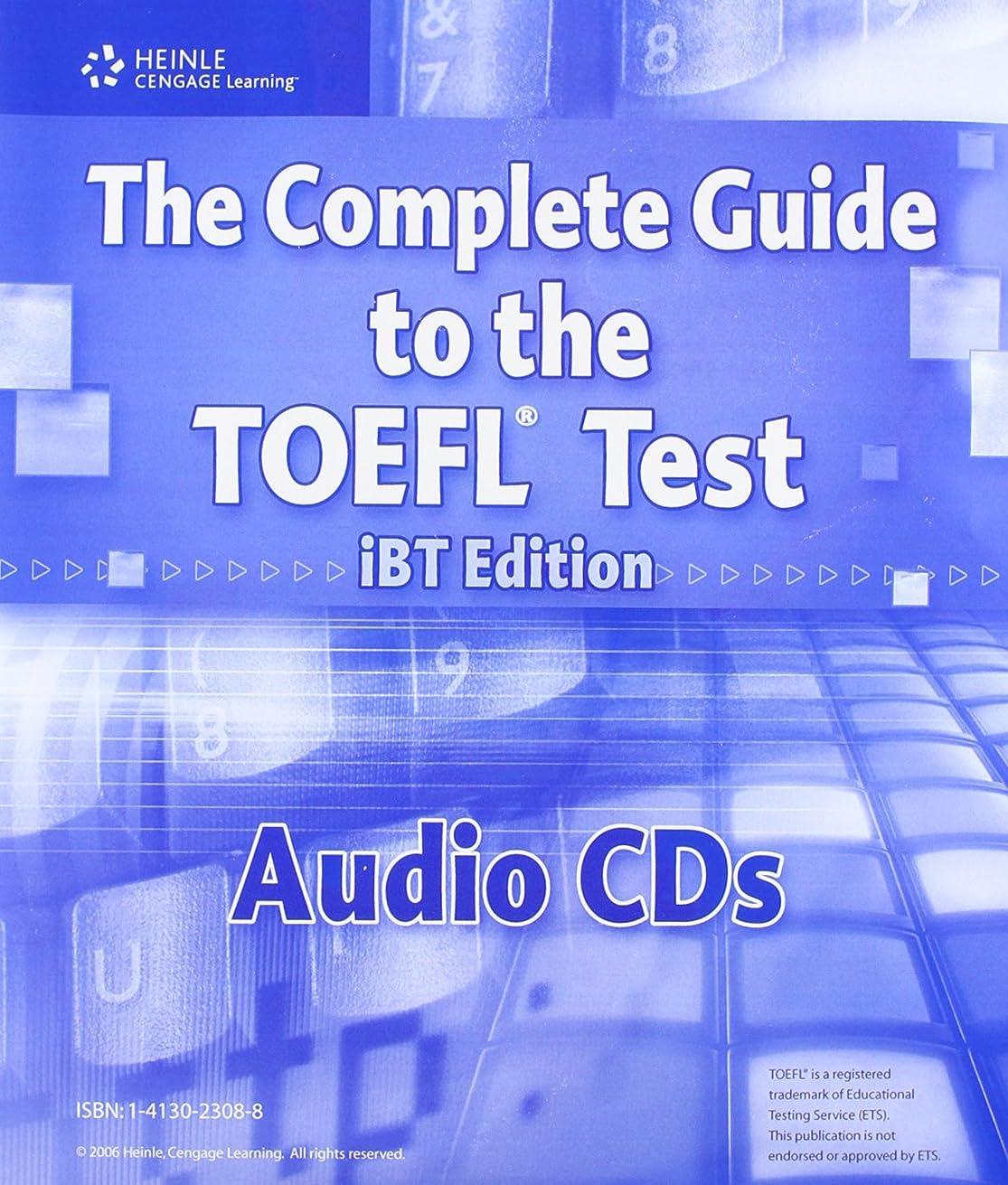 リア王エゴマニアモニカComplete Guide to the TOEFL Test, iBT Audio CDs (13) (Complete Guide to the TOEFL Test iBT)