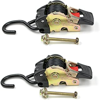 2 Quick n Easy AutoRetract Strap Cargo Tie Downs | Retractable 1