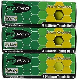 PT/PRO Platform Tennis Summer Balls, 9 Pack