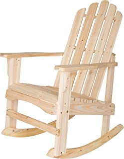 Best unfinished wood rockers Reviews
