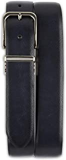 Reversible Leather-Look Stretch Belt