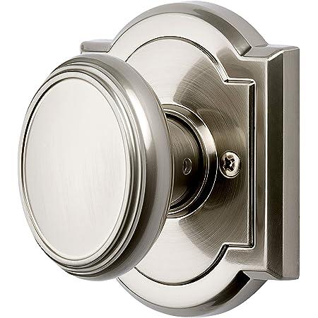 Satin Nickel NEW Baldwin Reserve 9BR3500-024 HALF DUMMY ROUND DOOR KNOB