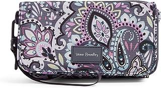 Vera Bradley Women's Recycled Lighten Up Reactive RFID Compact Crossbody Purse