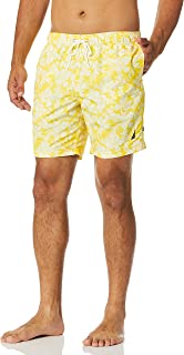 Nautica mens Quick Dry Palm Print Series Swim Trunk Swim Trunks