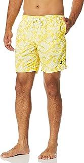 Men's Standard Quick Dry Palm Print Series Swim Trunk