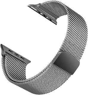 Microsonic 21285 Apple Watch 5 44mm Milanese Loop Version 3 Kordon Gri
