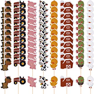 Best farm animal cupcake toppers Reviews
