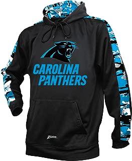 Zubaz Adult Men Carolina Panthers, Camo Print, X-Large