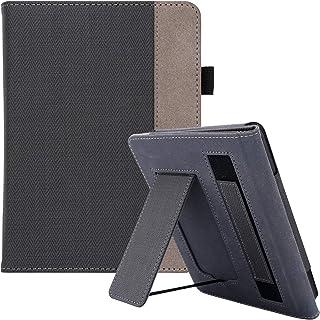 WALNEW AMAZON Kindle Paperwhite第十世代カバー ケース 2018 Kindle Paperwhite Newモデル(第10世代)に適応 スタンド機能 ベルト付き マグネット機能搭載カバー
