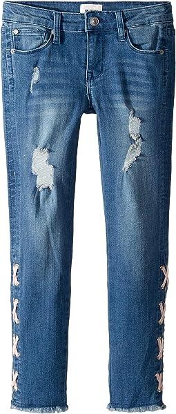 Etta Crop Jeans in Glass Blue (Big Kids)