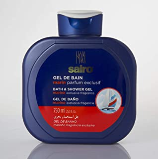 Sairo Bath and Shower Gel - Marin , 750 ml
