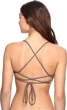 Salt Water Solids Bikini Top