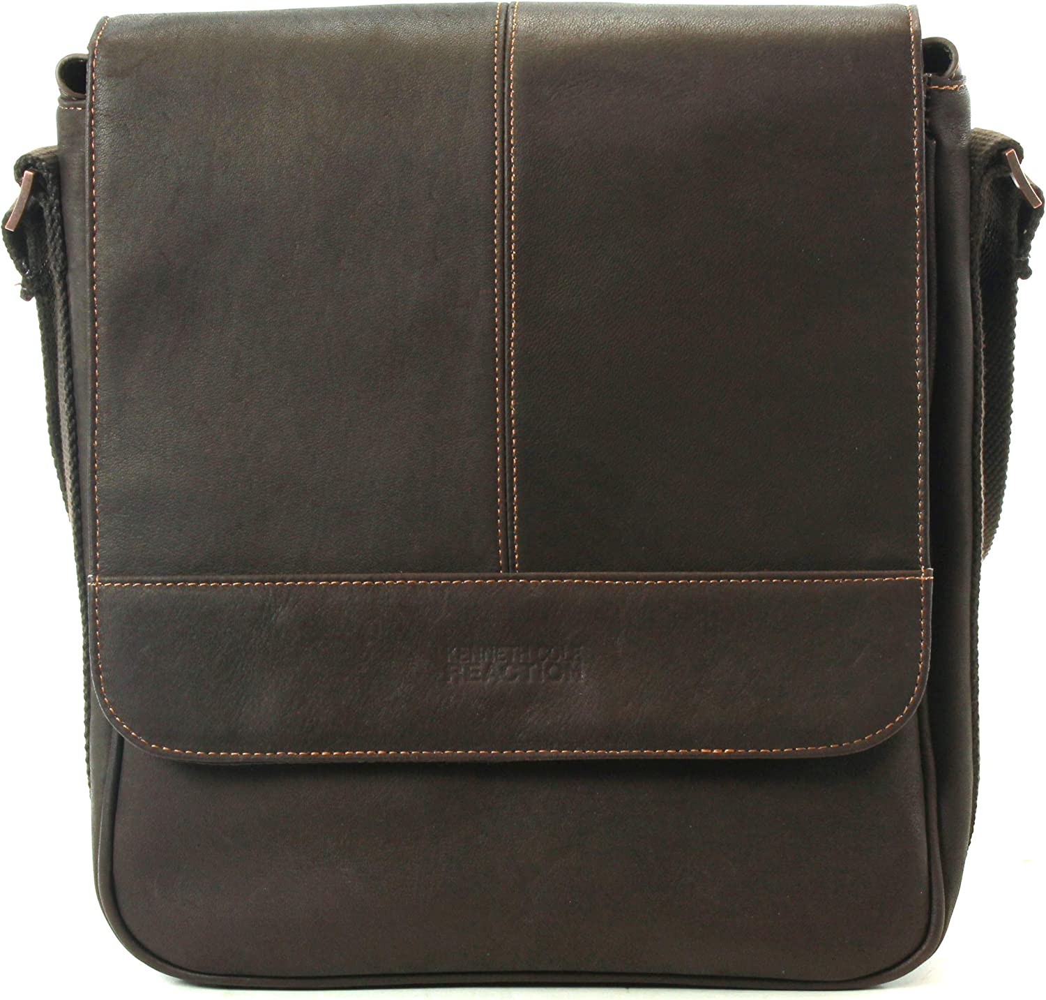 Kenneth Cole Reaction Purchase Colombian Compartment Leather Single unisex Flapo