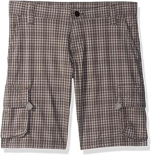 Wrangler boys Fashion Plaid Cargo Short Cargo Shorts
