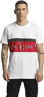 Dolfo Logo Cotton Tee White/Gold