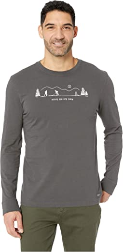 Long Sleeve Pond Hockey Crusher Tee