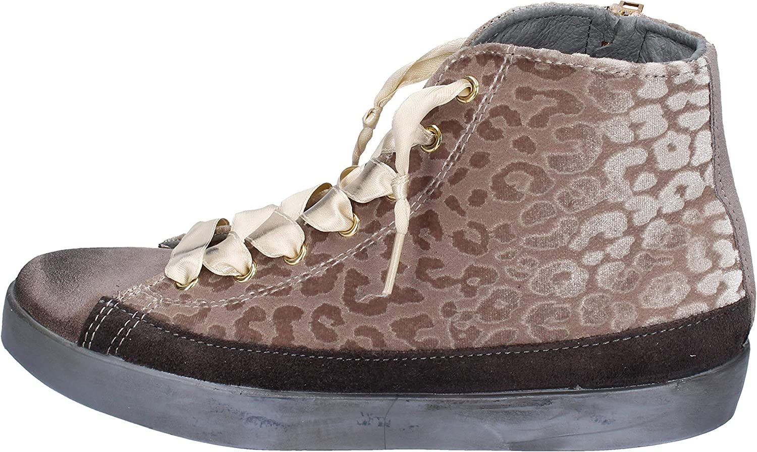 Beverly Hills Polo Club Fashion-Sneakers Womens Suede Beige