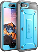 SupCase Unicorn Beetle Pro Series Case Designed for iPhone 7, iPhone 8, Full-body Rugged Holster Case with Built-in Screen Protector for Apple iPhone 7 2016 / iPhone 8 2017 (Blue)