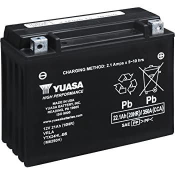 Amazon Com Powerstar H D 24hl Bs Battery 12v 24ah 335cca Automotive