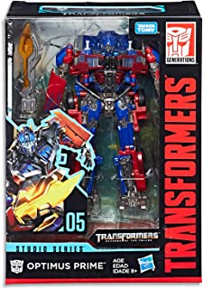 "TRANSFORMERS - 6"" Optimus Prime Action Figure - Revenge of The Fallen - Generations - Studio Series - Takara Tomy - Kids Toys - Ages 8+"