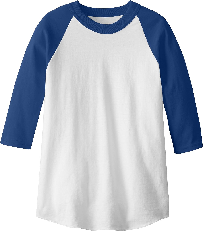 Tshirt Enfants Jeunes T-shirt Sport Baseball T shirts d/'été confortable 21904