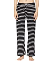 Eberjey - Lounge Stripes - The Wide Leg Pants