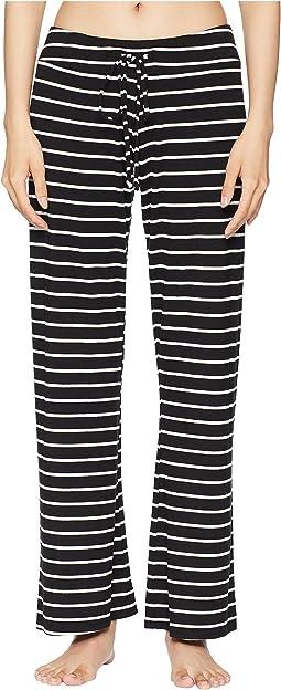 Lounge Stripes - The Wide Leg Pants
