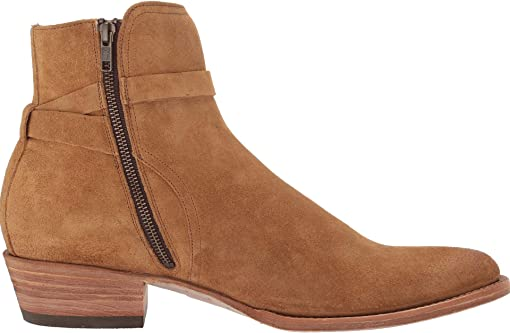 Tan Oiled Suede