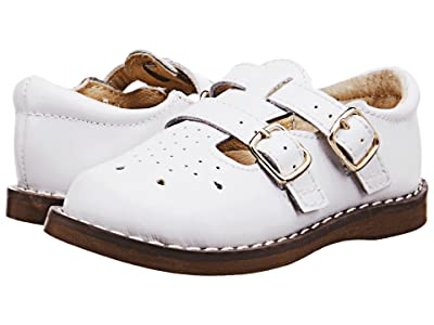 FootMates Danielle 3 (Infant/Toddler/Little Kid) (White) Girls Shoes