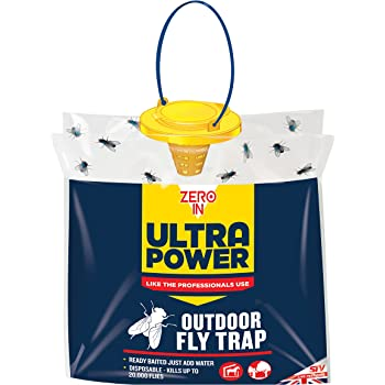 STV International The Buzz Jaw Fly Trap Super Effective Fly Catcher Disposable