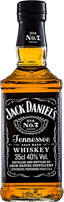 Jack Daniel's Old No.7 Tennessee Whiskey, 350 ml
