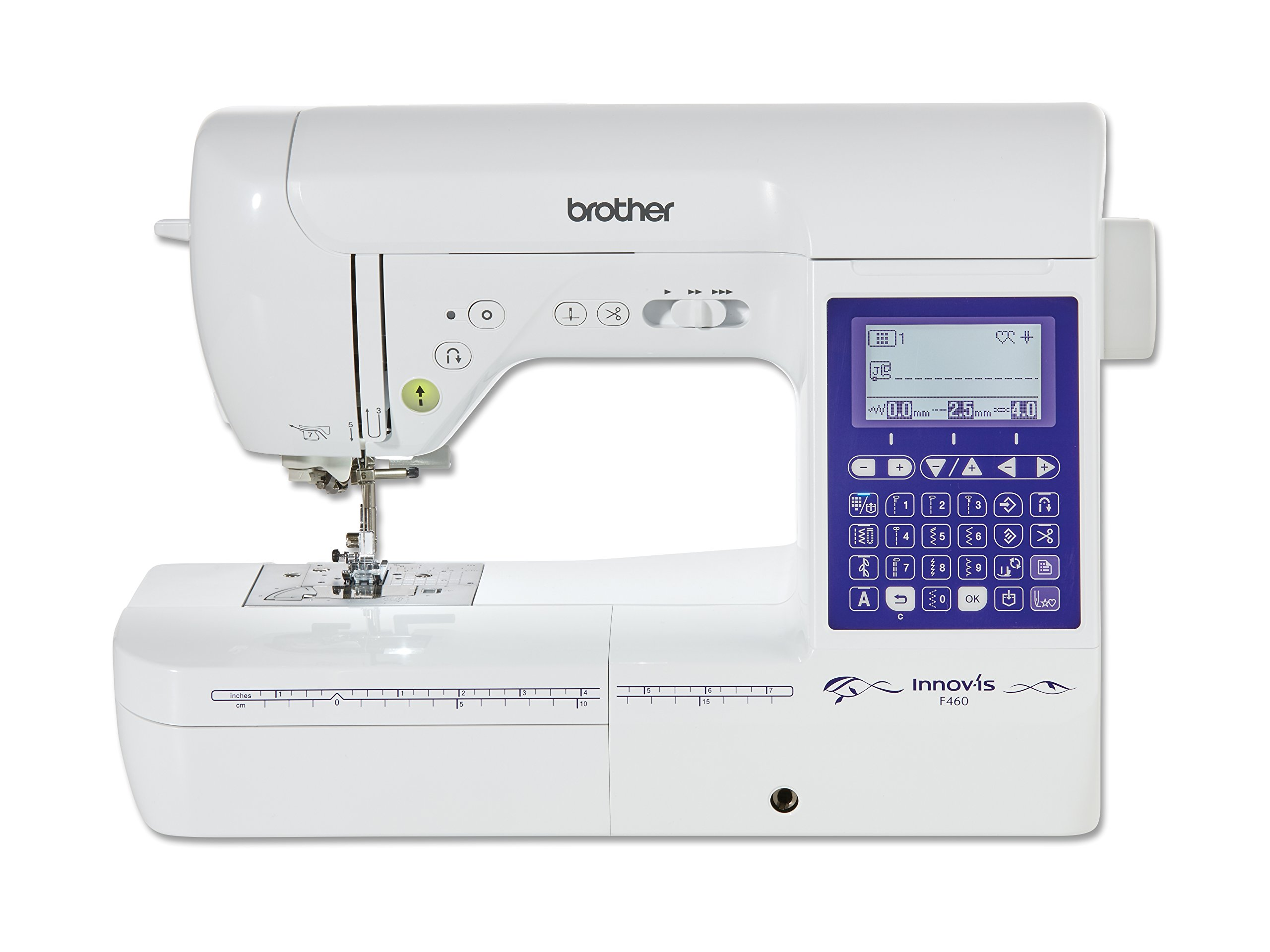 Brother Innovis F460 Maquina De Coser, Blanco, Cm: Amazon.es: Hogar