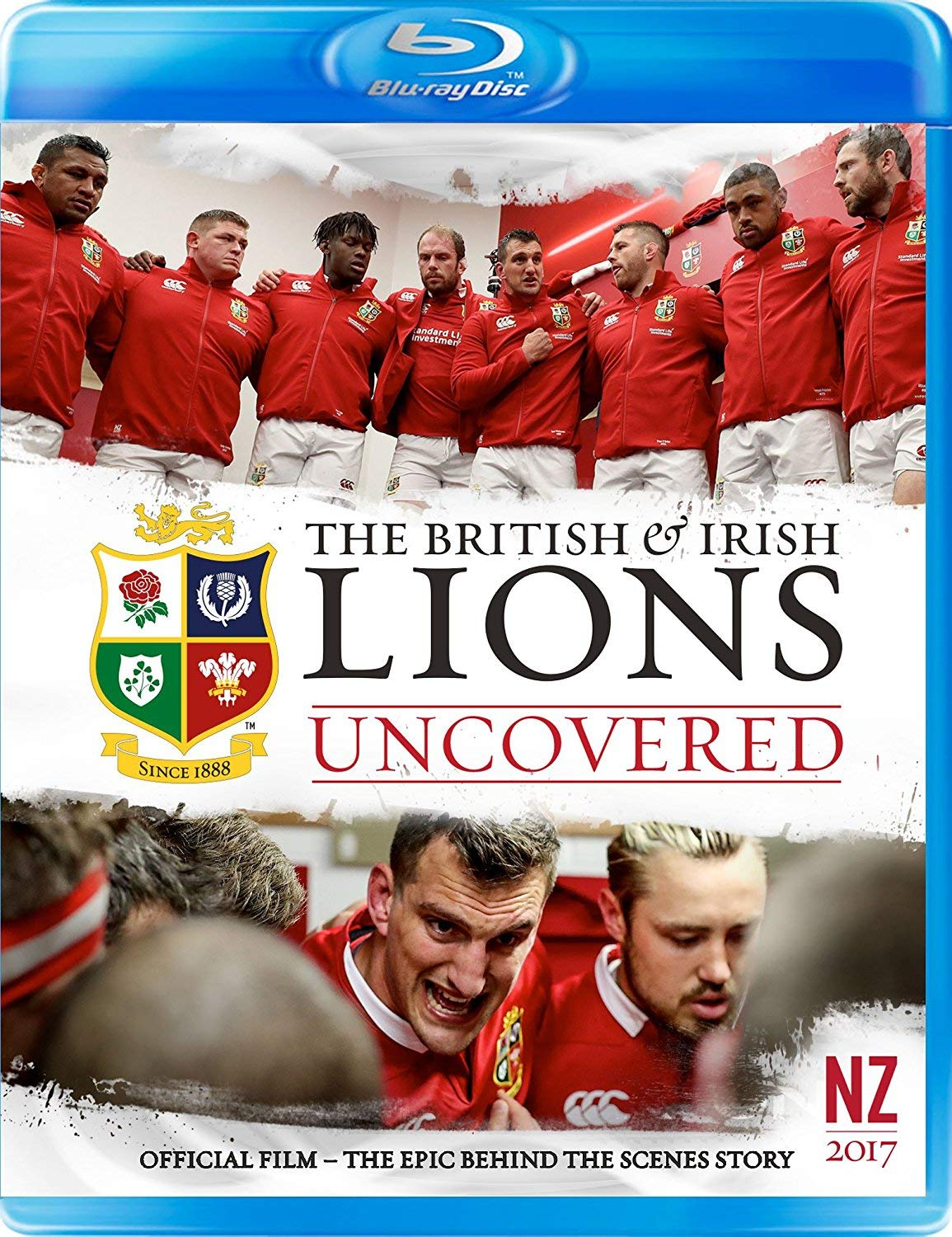 British and Irish Department store Lions High quality Blu-ray Uncovered 2017: