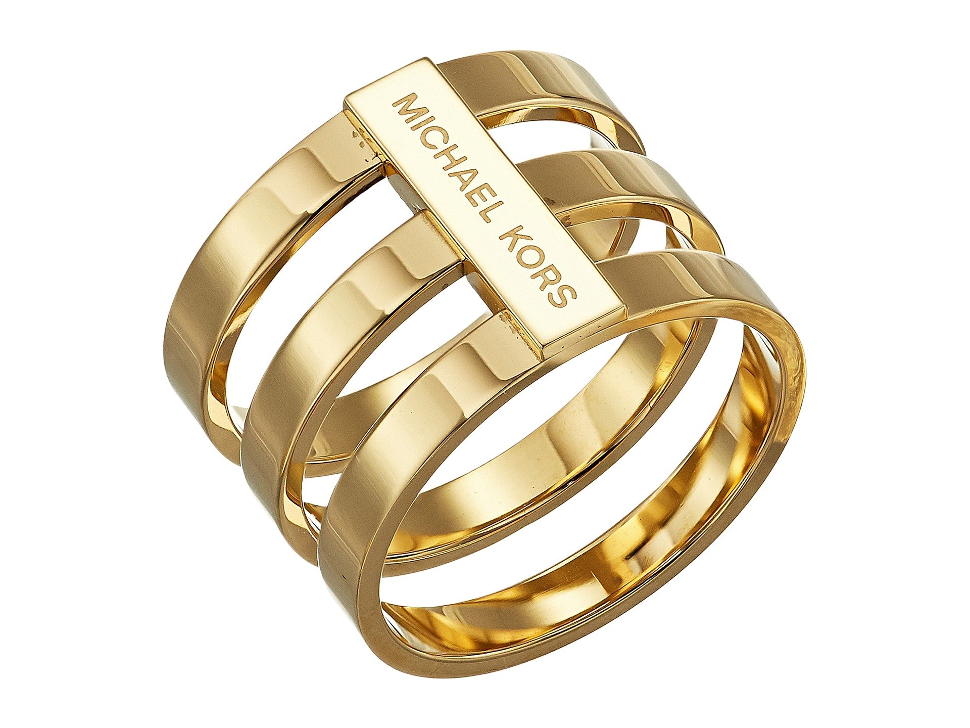 Anillo para Mujer Michael Kors Tri Stack Open Pave Bar  + Michael Kors en VeoyCompro.net