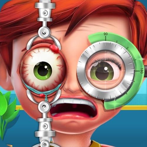 Augenchirurgie-Krankenhaus: Notfall-Doktor-Spiel