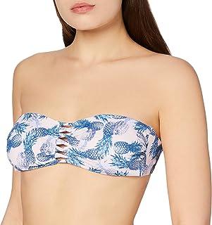Marchio Amazon - Iris & Lilly Reggiseno Bikini a Fascia Donna