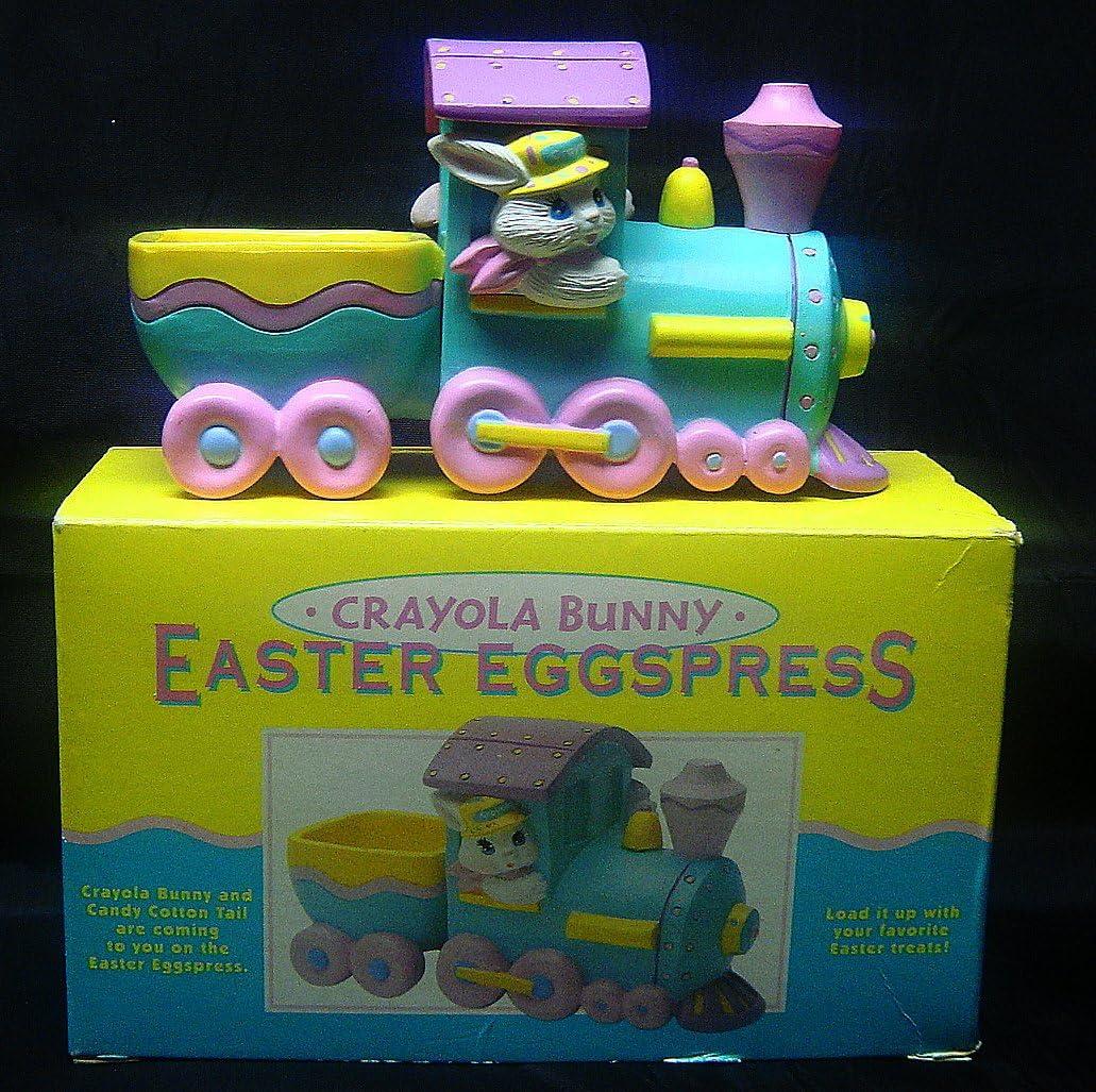 Max 69% OFF HALLMARK 1993 Crayola Cheap super special price Crayon Easter Bunny Eggspress Egg