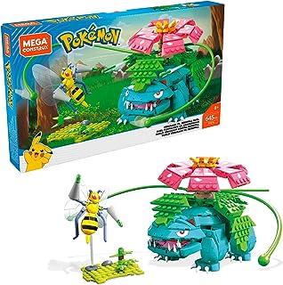 Mega Construx - Pokemon Figuras Venesaur Versus Beedrill Duel, Juguetes Niños +8 Años (Mattel FVK76)