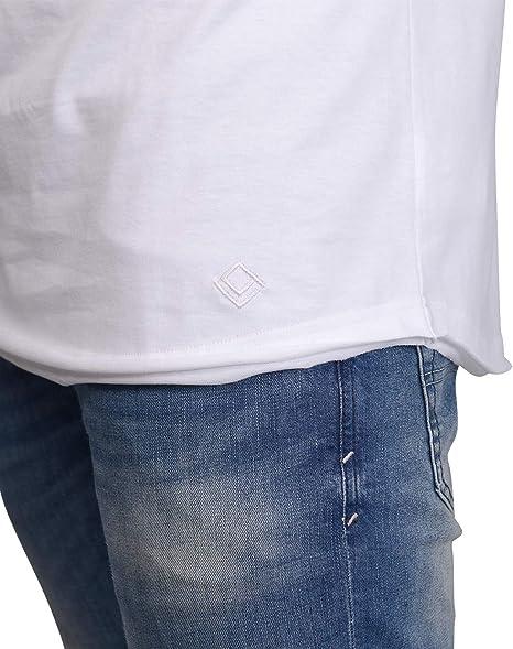 QULAXITY XVI Camisa sin Mangas de Hombre Oversize Tank Top