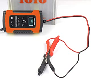 TERMALY 12V6A Motorcycle car Battery Charger, Charger Full Intelligent, Universal, Repair Type Lead Acid Storage Charger,A