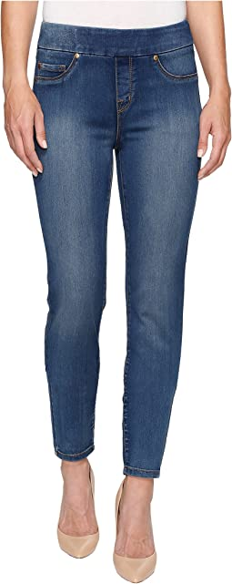 "Tribal Pull-On 31"" Dream Jeans in Retro Blue"
