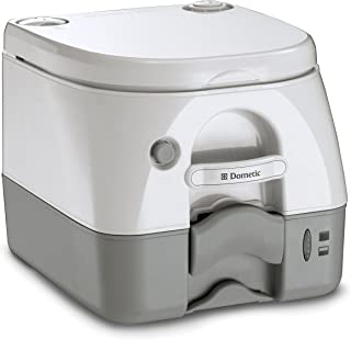 Dometic 1223.0154 301097206 970 Series Portable Toilet-2.6 Gallon, Gray