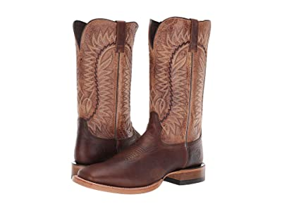Ariat Relentless Elite (Rich Clay/Wildhorse Tan) Cowboy Boots
