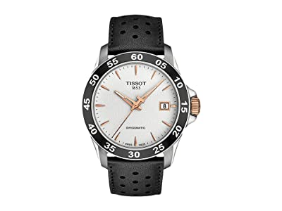 Tissot V8 Swissmatic T1064072603100 (Silver/Black) Watches