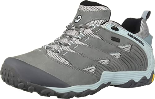 Merrell Wohommes Chameleon 7 Waterproof Hiking chaussures, Frozen bleu, 06.5 M US