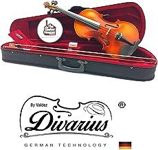 Violín Estudiante Divarius brillante 4/4 Profesional